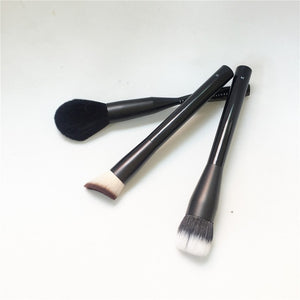 NYXPRO-SERIES 04 Dual Fiber Foundation / 21 LIGHTWEIGHT POWDER BRUSH / 22 Total Control Drop Foundation - Beauty Makeup Brushes
