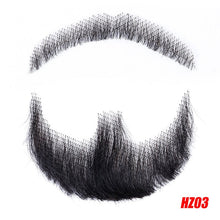 Load image into Gallery viewer, DIFEI Men's Fake Beard For Mustache Fake Beard Props Invisible Fake Weave Mustache Make-up Easy Props Simulation Beard - Vipbeautycompany.com