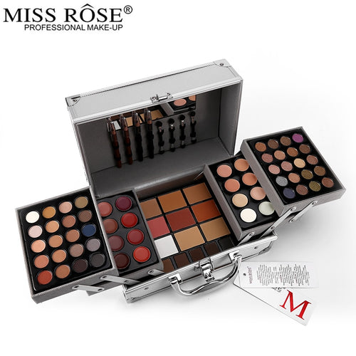 Miss Rose Makeup Suits Artist Professional Eye Lip Face Make Up Set Eyeshadow Contour Lipstick Multifunctional Cosmetics Tools - Vipbeautycompany.com