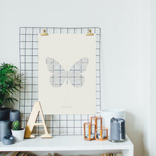 Load image into Gallery viewer, Insect Collection – Butterfly Paper Cut Wall Art