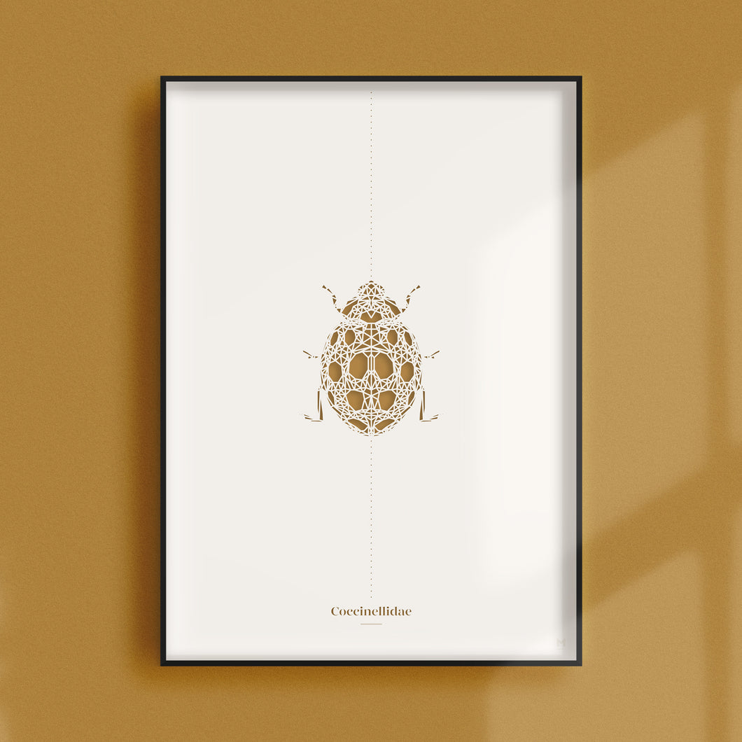 Insect Collection – Ladybird Paper Cut Wall Art
