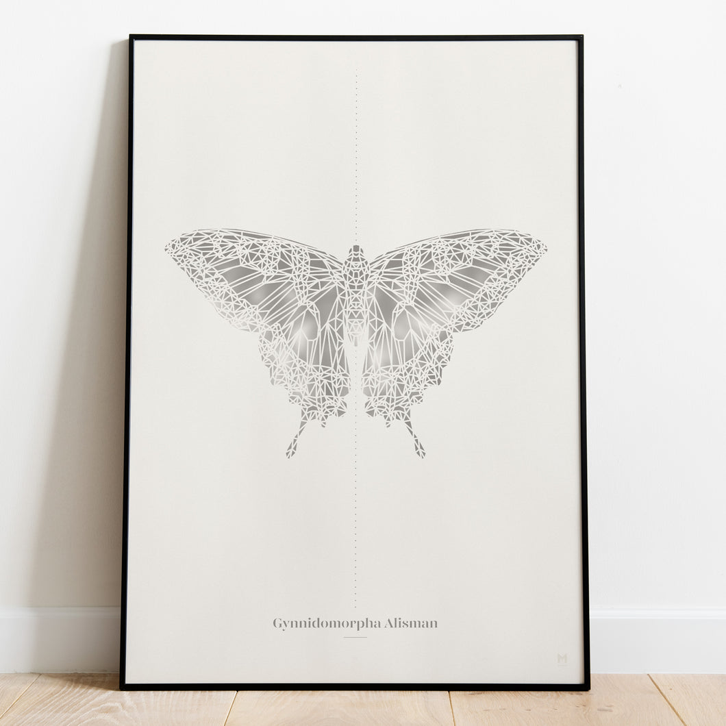 Insect Collection – Moth Paper Cut Wall Art