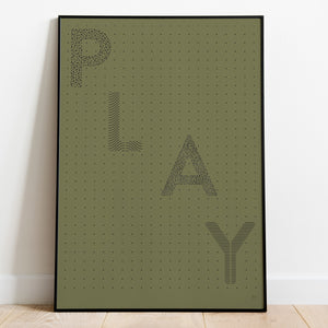 Play Paper Cut Wall Art