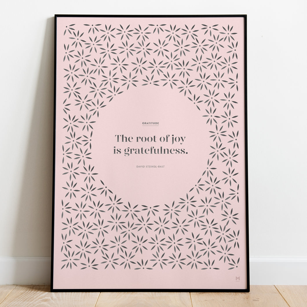 Positivity: Gratitude Paper Cut Wall Art