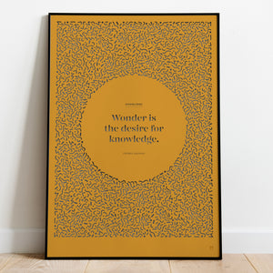 Positivity: Knowledge Paper Cut Wall Art