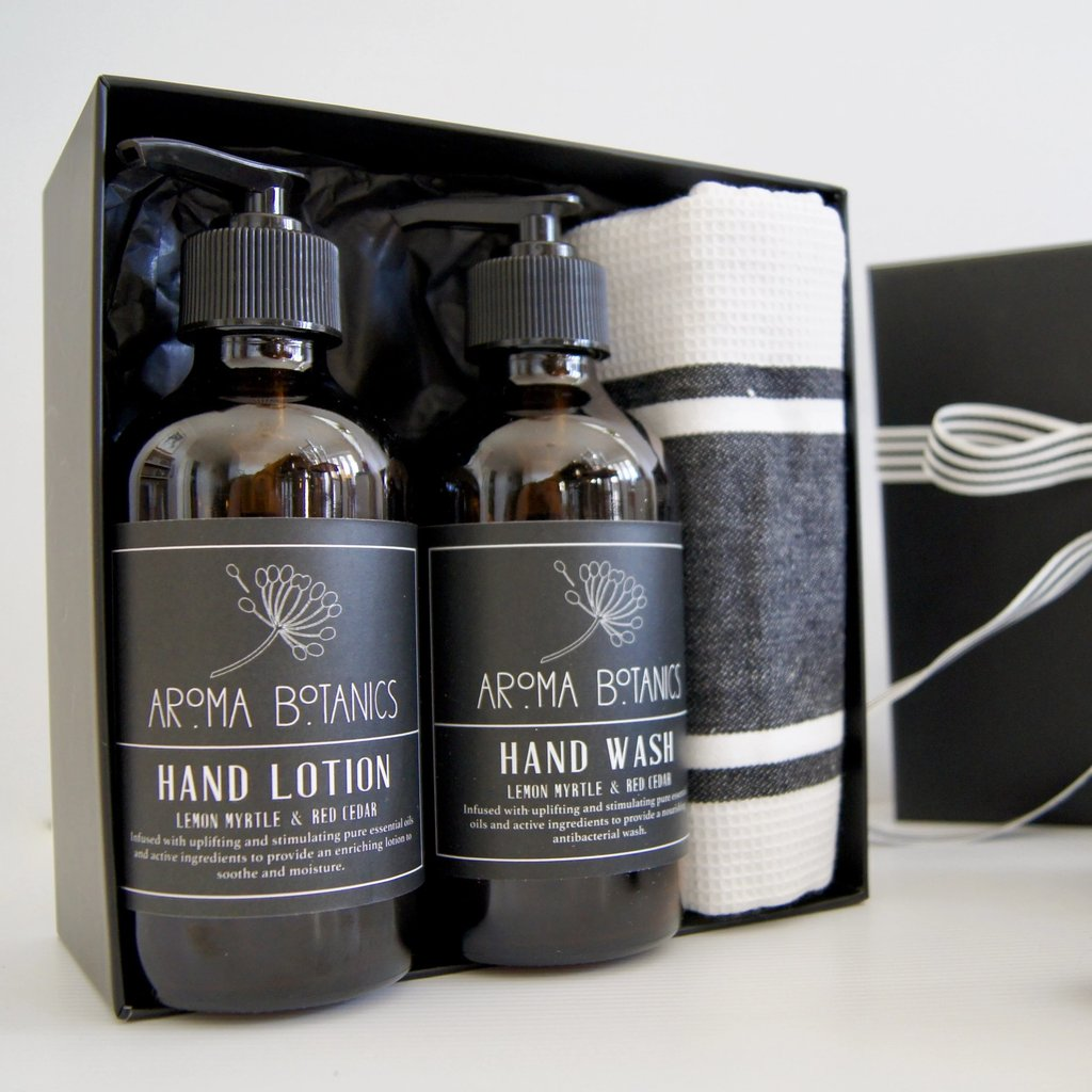Aroma Bottles Environmentally Friendly Product Gift Set