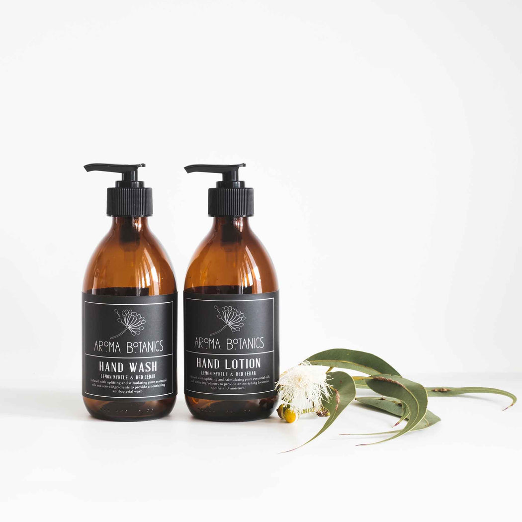 Aroma Botanics Natural Essential Oil Lotion and Hand Wash Set