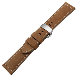 Italian Genuine Leather Watchband for Samsung Gear S3 with Quick Release - Tech Gears