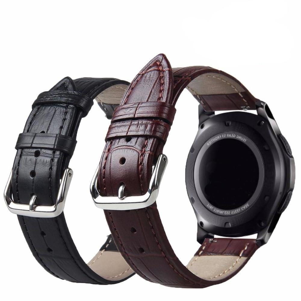 Genuine Leather Watchband for Samsung Gear S3 - Tech Gears