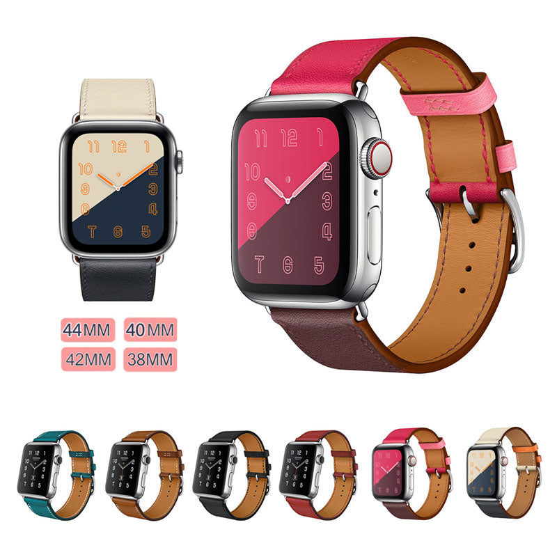 Genuine Leather Band for Apple Watch - Tech Gears