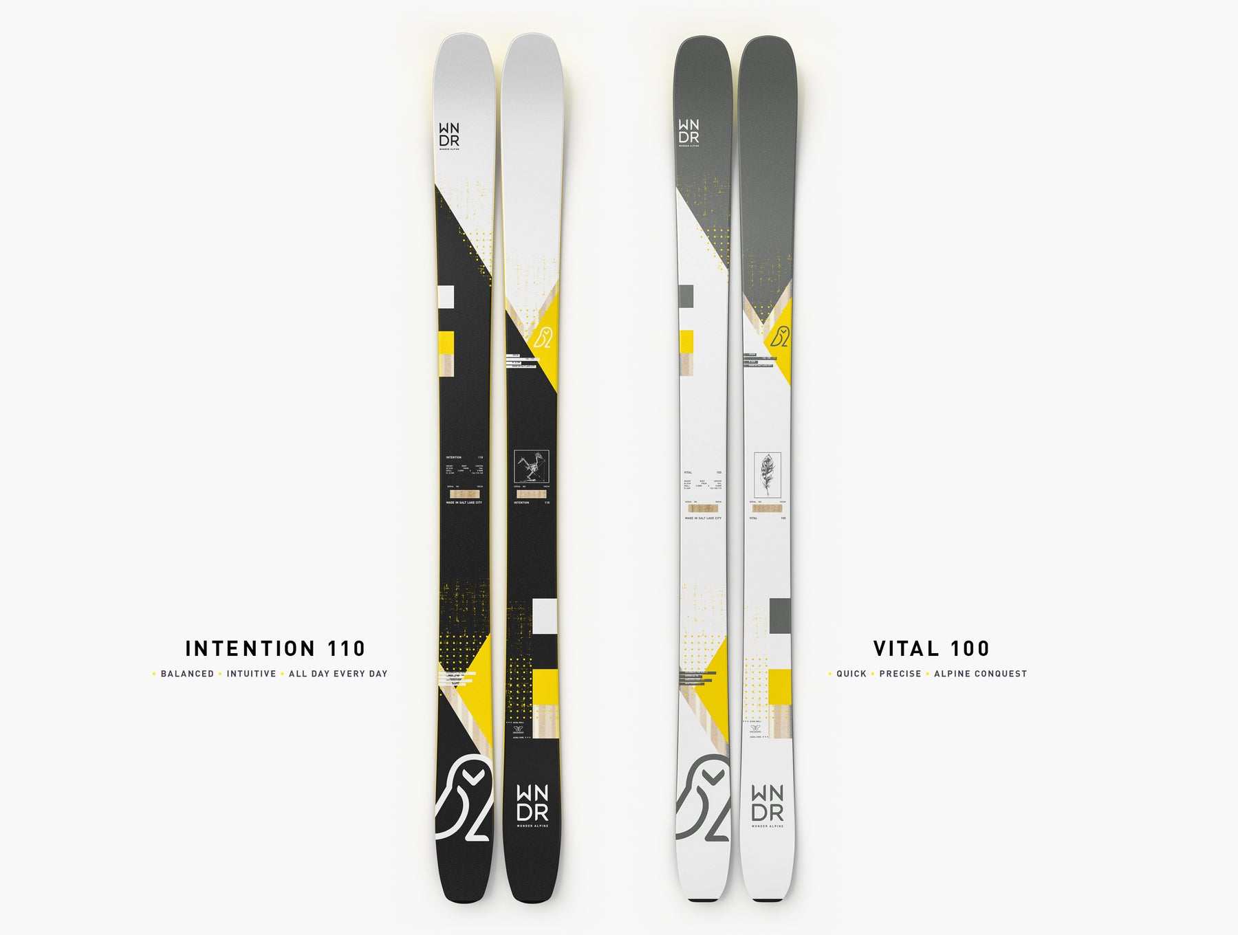 alpine touring backcountry skis
