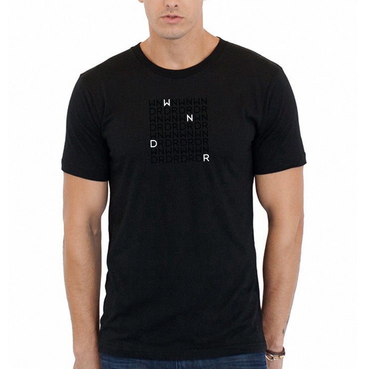 WNDR Crossword Tee - Mens