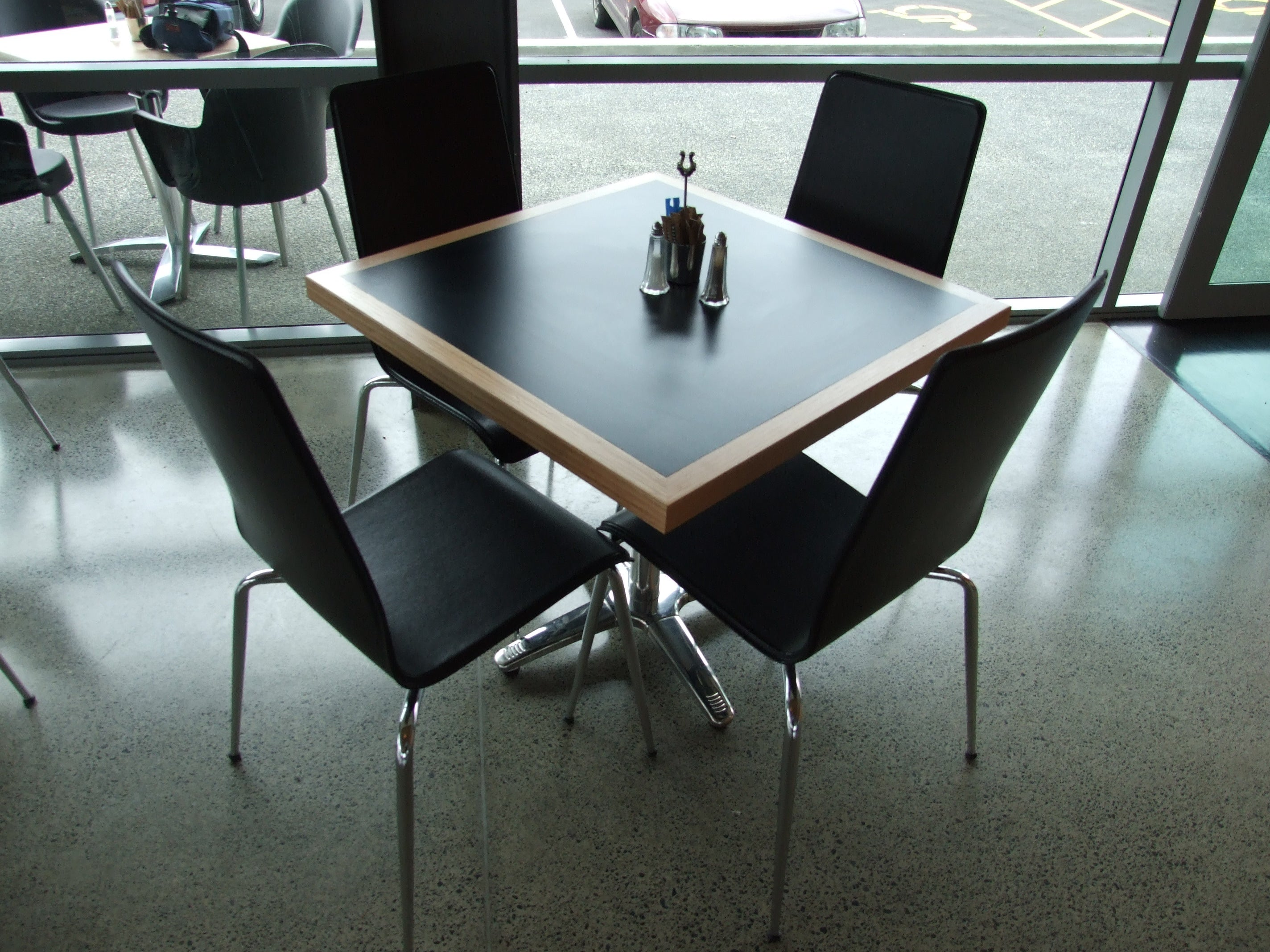 cafe furniture fit-out