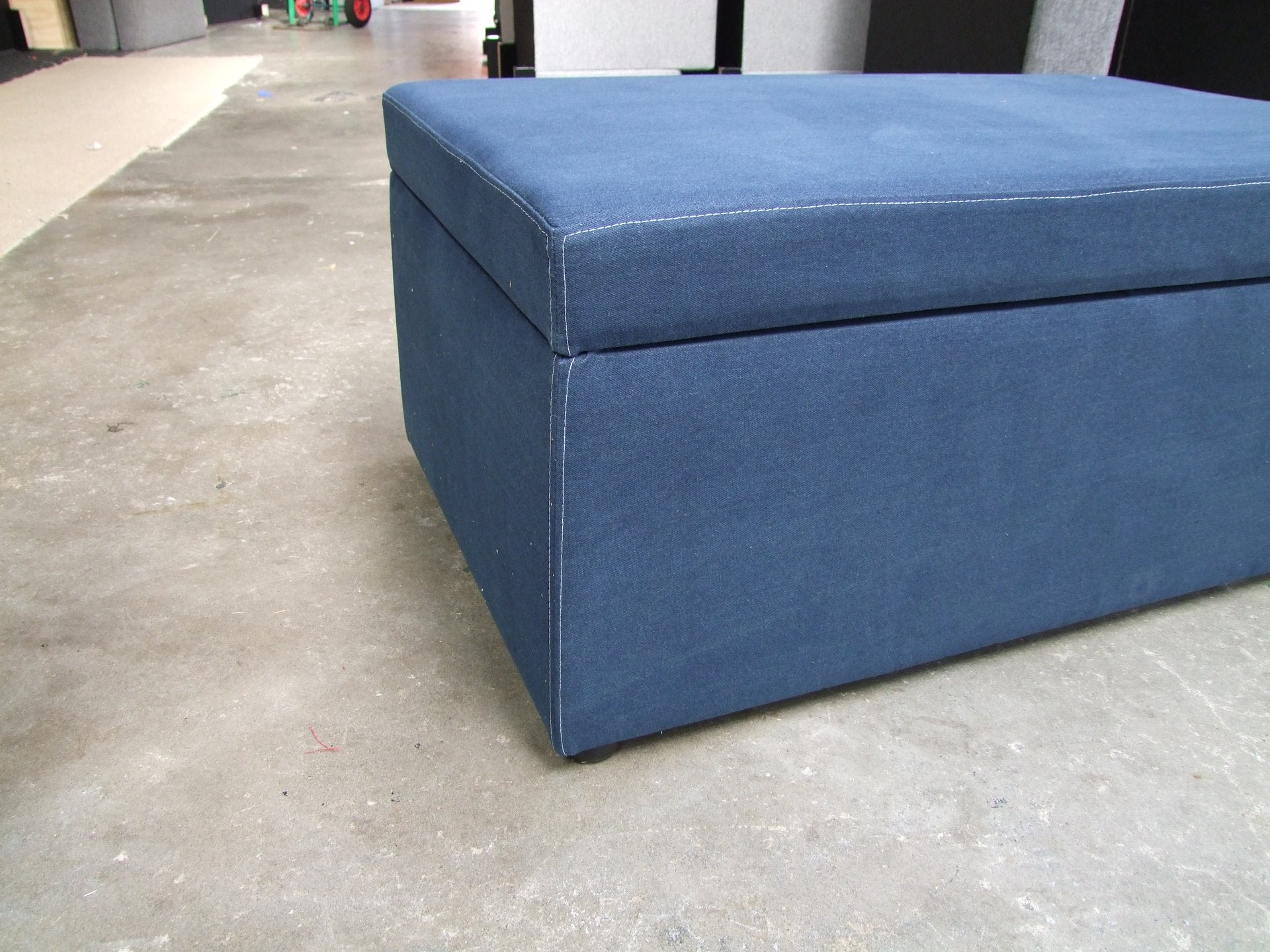 custom made storage ottomans