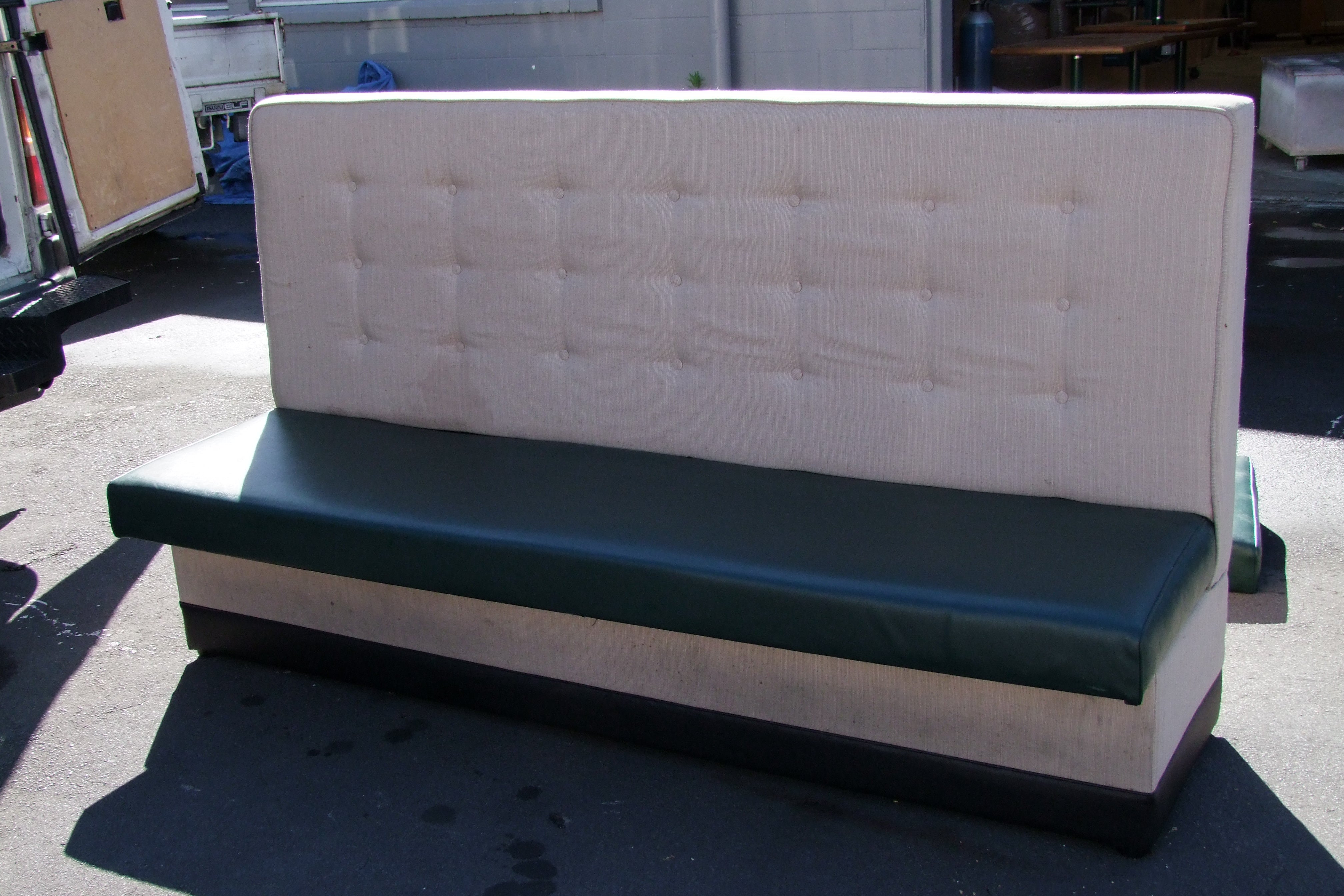 booth seating reupholstery
