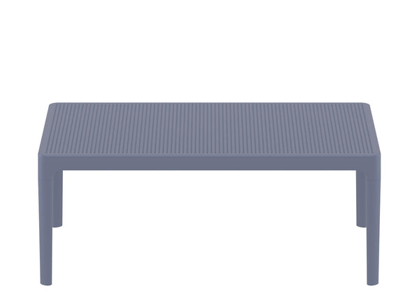 sky lounge table dark grey