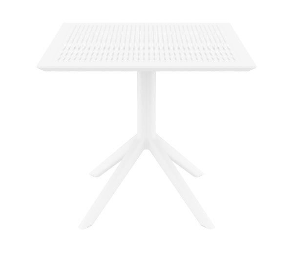 sky table white