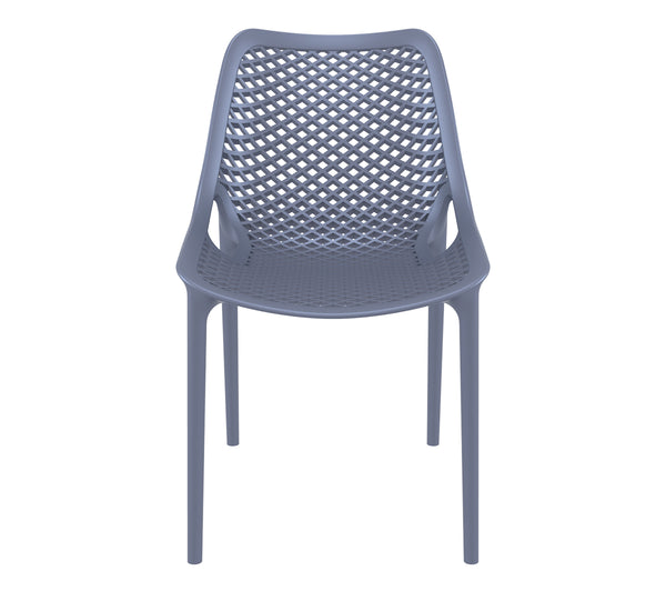 air chair dark grey