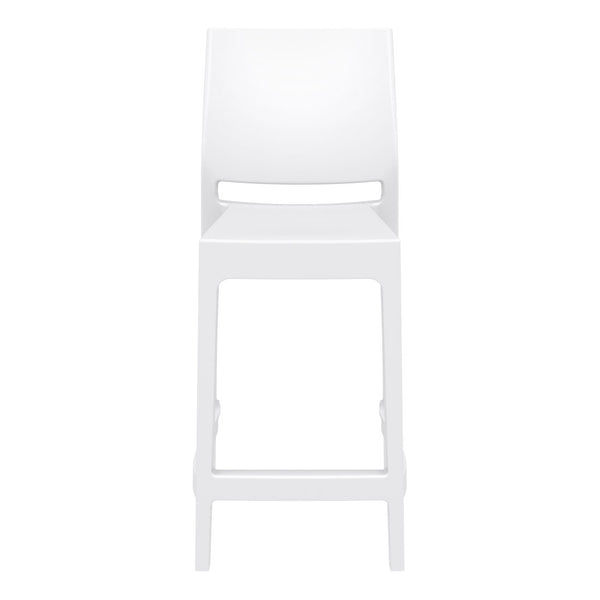 maya bar stool white