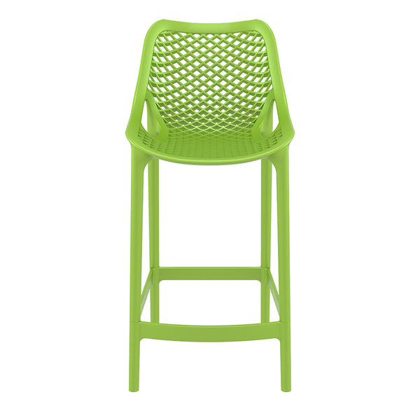 air bar stool green