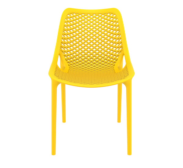 air chair yellow