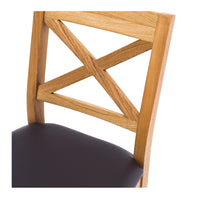 "SOLSBURY BAR STOOL 65cm ""OAK"""