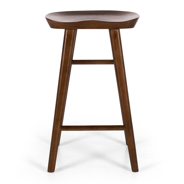 rivera bar stool deep oak
