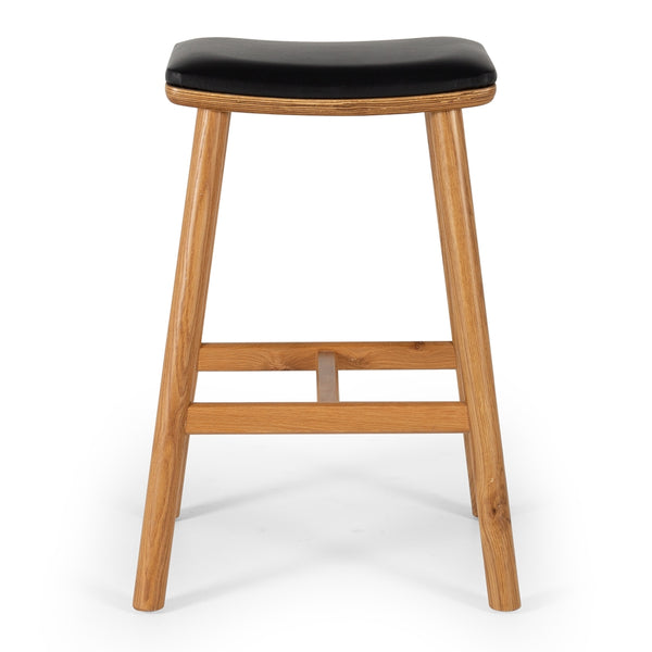 DAMONTE OAK BAR STOOL 65cm