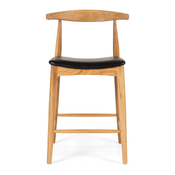 elbow bar stool natural