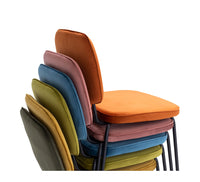 "TIVOLI DINING CHAIR "" MEADOW VELVET"""