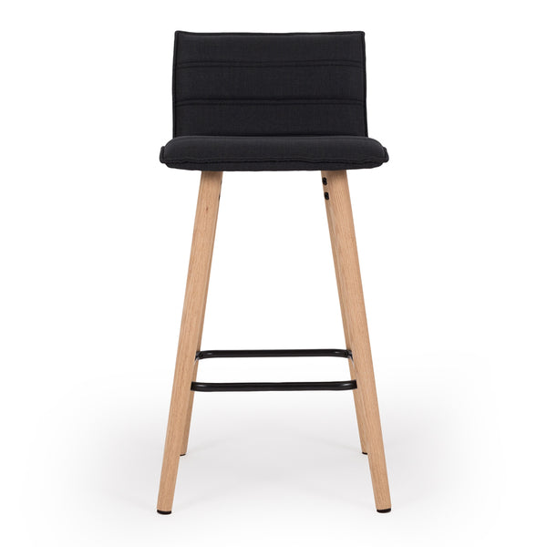 lux bar stool black