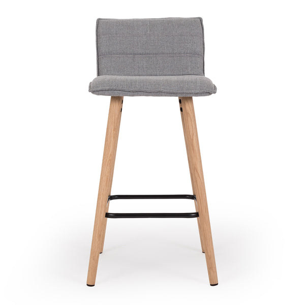 lux bar stool light grey