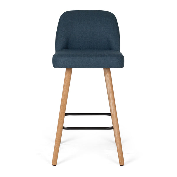 nero bar stool blue