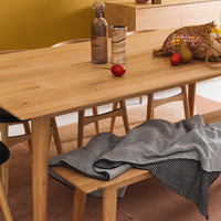 nordic dining table 190cm