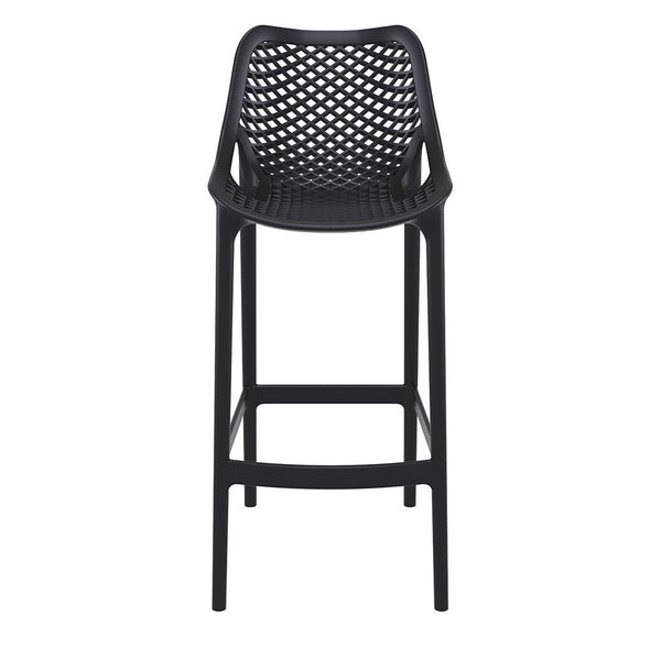 air bar stool black