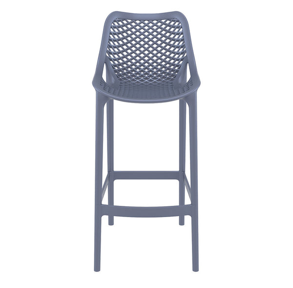 air bar stool dark grey