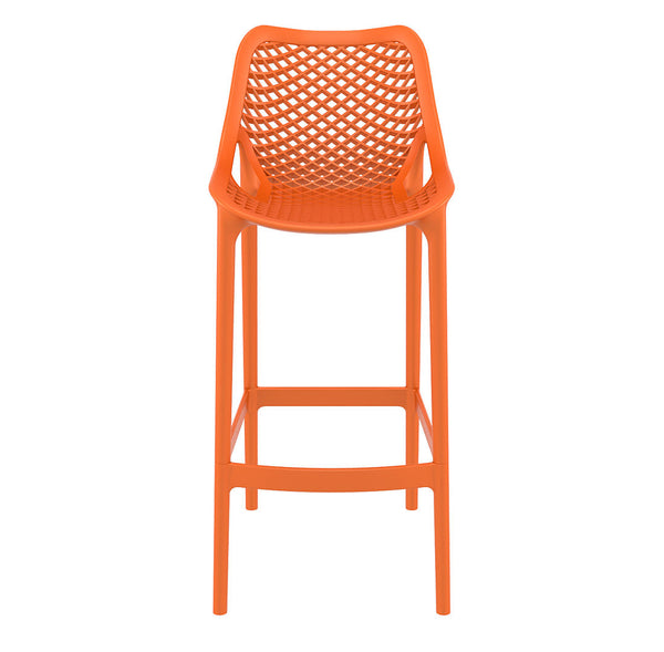 air bar stool orange