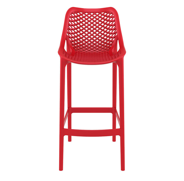 air bar stool red