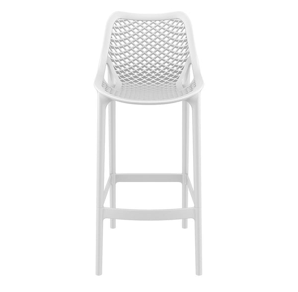 air bar stool white