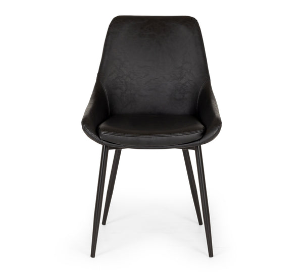 birch chair black p.u