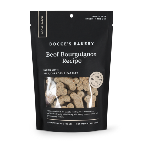 Beef Bourguignon Biscuits 8oz bag