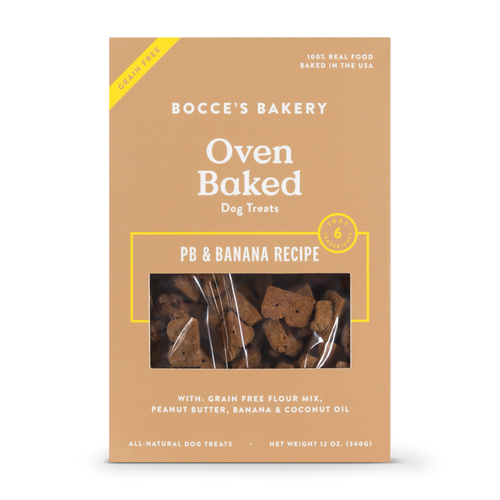 Grain-Free PB + Banana Biscuits 12oz box