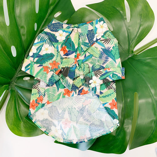 Aloha Hawaiian Shirt - Green