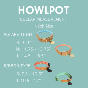 Ribbon Type Collar - Cloud Bay