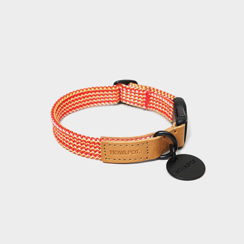Ribbon Type Collar - Cherry Twizzle