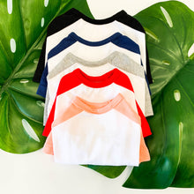 Load image into Gallery viewer, Baseball Jersey Tee - Coral