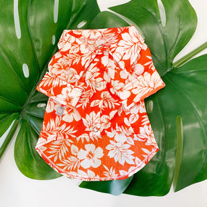Aloha Hawaiian Shirt - Orange