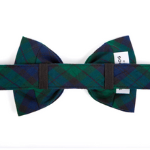 Load image into Gallery viewer, Blackwatch Plaid Dog Bow Tie