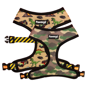 Jurassic Bark Reversible Harness