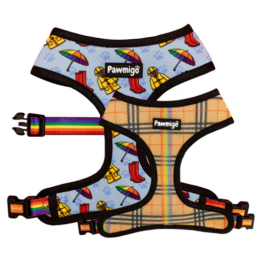 April Showers Reversible Harness